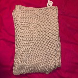 Tan Knitter Scarf